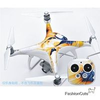 DJI Phantom 4 PVC Stickers Phantom Aircraft Waterproof Stickers Skin Decals Paster Easy To Paste and Tear Off