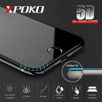 XPOKO Bupuda 5D Tempered Glass For iPhone X 8 7 6s Plus Screen Protector 10 Glass