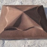 molds for concrete cap Fence Cover Pillar Plastic