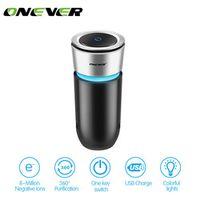 Onever Ionic Air Purifier Cleaner Remove Smoke Odor Bacteria Mini Ozone