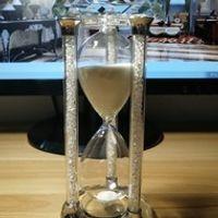 LACALOVE 15/30/60 Minutes Crystal Sandglass Diamonds