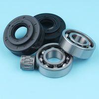 Haishine Crank Crankshaft Needle Bearing Oil Seal Set For Jonsered 2141 2145 2150