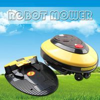 Intelligent Auto recharge Robot Mower L1000 with 24V 4Ah Lithium battery Smart mower for part and garden, father't day gift