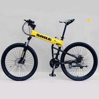 "saile 26"" 24 Speed Aluminum Alloy Mountain Bike Fast Folding Bicycle MTB Double Wheel"