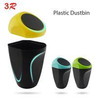 3R Accessories Door Mini Portable Car Auto Trash Garbage Rubbish Can Bin Dust Box