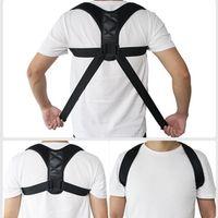 Aptoco Adjustable Posture Corrector Clavicle Spine Back Shoulder Lumbar Brace