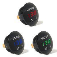 SEBTER Waterprof Car LED 12-24V Short Circuit Protective Battery Monitor Accurate