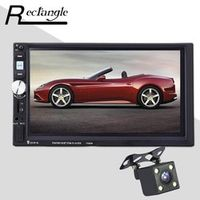 Rectangle 2 Din 7080B MP5 Player 7 Inch Touch Screen Auto Car MP4 Video Radio