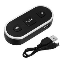 NOYOKERE Wireless Car Bluetooth Aux Receiver Adapter Handsfree Kit For iPhone Android