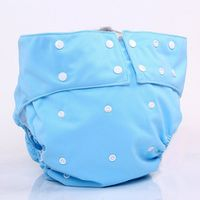 Adjustable Sizes All in One Washable PUL Waterproof Adult Cloth Diaper Incontinence