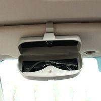 RIMIDI Car Sunglasses Holder Glasses Case Cage Storage Box For Mercedes Benz GLK