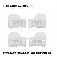 NBYUEP Car Parts For Audi A4 8D5 B5 Window Regulator Repair Clips 2 Pairs 1994 - 2001
