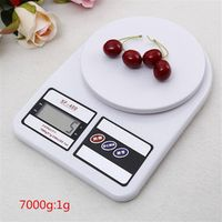 7000g 1g Digital Kitchen Scale Electronic Baby Food Scale Cooking Measure Tools Touch Bottom LCD Electronic (SF-400-7000)