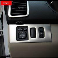 MR TEA For Mitsubishi Pajero headlight switch cover Interior trim decoration