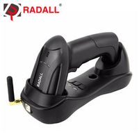 RADALL Handheld Wireless Barcode Scanner Reader 32 Bit with Memory 4MB Cordless Easy