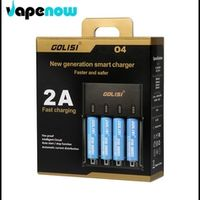 Original GOLISI O4 Intelligent Digicharger Battery Charger For AA AAA Li ion 18650 Electronic Cigarette Battery Charger