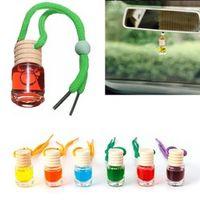 Glass Bottle Car Vehicle Aroma Oil Air Freshener Diffuser Essential Fragrance JUL06_20