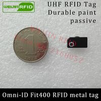 UHF RFID anti-metal tag omni-ID fit400 fit 400 915mhz 868mhz Alien Higgs3 EPCC1G2 6C durable paint smart card passive RFID tags