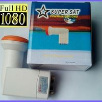 TCWKSAT SUPER SAT SR-4604 QUAD LNB Universal Ku band MPEG4 MPEG2 1080P FULL HD