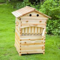 Golden palace Full wooden beehive with auto flow frames