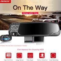 PAPAGO M20 Car DVR Dashcam Novatek 96655 1080P 2.7 ' 135 Degree Angle Rearview Mirror