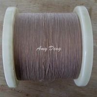 500 meters/lot 0.1x4 shares Litz strands cotton polyester