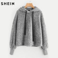 SHEIN Faux Fur Fluffy Autumn Winter Casual Womens