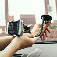 HLEST Adjustable holding width from 0mm 90mm 360 Degree Car Holder Windshield Mount
