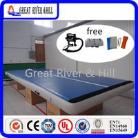 Great river & hill training mats air track good bounce and high quality for gymnastics tumbling with free shipping 7m x2m x20cm
