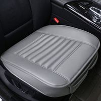 MHSZZAO Car Seat Cushion Leather Car pad 4 Seasons Wear-resistant Car-styling Auto