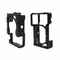 Aluminum Alloy Camera Cage Protective Camera Frame for Sony A6500 ILDC Camera Video Camera Cage to Mount Tripod Light