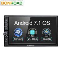 "Bonroad 7""2Din Android 7.1 Car Multimedia Play Tap PC Tablet GPS Navigation"