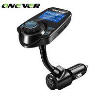 Onever MP3 Audio Player Bluetooth FM Transmitter Wireless Modulator Car Kit HandsFree