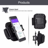 ONLENY Running Armband Retractable Mobile Phone Holder Clip Stand Sports Belt GYM
