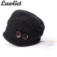 Lawliet Winter Hats for Women Warm Wool Skullies Beanies