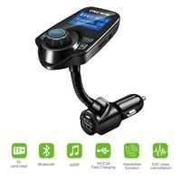 Onever 12-24V Wireless Bluetooth V3.0 Car Kit MP3 Player Hands-free Call