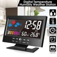 OUTAD Electronic Digital LCD Desk Temperature Humidity