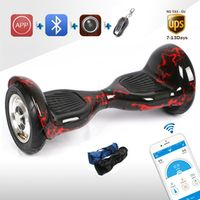 MAOBOOS APP Electric Scooter Bluetooth Self Balance Hover board Stand Up Remote