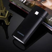 Portable Battery Box HAWEEL DIY Power Bank Shell 2x 18650 Battery Case Box with USB Output & Indicator Light (No Battery)