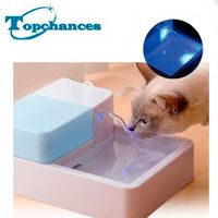 ELE ELEOPTION 1.8L LED UV STERILIZATION AUTOMATIC CAT DOG BIRD KITTEN WATER FOUNTAIN