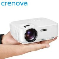 Crenova Mini Portable LED Projector Support FULL HD 1080P for Home Theater