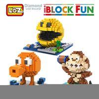 LOZ Pixels Figure Building Blocks Pacman Pac Man Orangutan