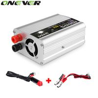 Onever 500W DC 12V to AC 220V Adapter 1000W Peak Car Auto Modified Sine Wave