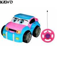 KAWO Kid's Engineering Truck Race Car Radio Control Toy for Toddlers