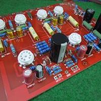 Kaisaya Hi-End Stereo Push-Pull EL84 Vaccum Tube Amplifier PCB DIY Kit Ref Audio Note