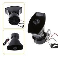OOTDTY 100W 12V Car Truck Alarm Police Fire Loud Speaker PA Siren Horn MIC System Kit