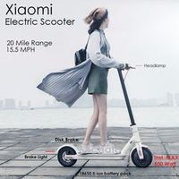 PCFGSL Xiaomi M365 IP54 Ultra Light Folding 20 Mile Charge Electric Scooter 15.5mph
