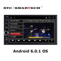 SMARTECH 2din Android 6.0.1 OS Car Audio system Quad Core 7 inch Screen Car GPS Head Unit Support Video out OBD DVR DAB+ Wifi 4G