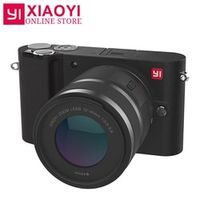 "International Edition YI M1 Mirrorless Digital Camera 4k/30fps 3.0"" LCD 20MP Video Recorder WIFI BT 81 AF Points 720RGB H.264"