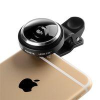 NMEGOU Universal Clip 235 Degree Super Fish Eye Camera Fisheye Lens For Apple iPhone